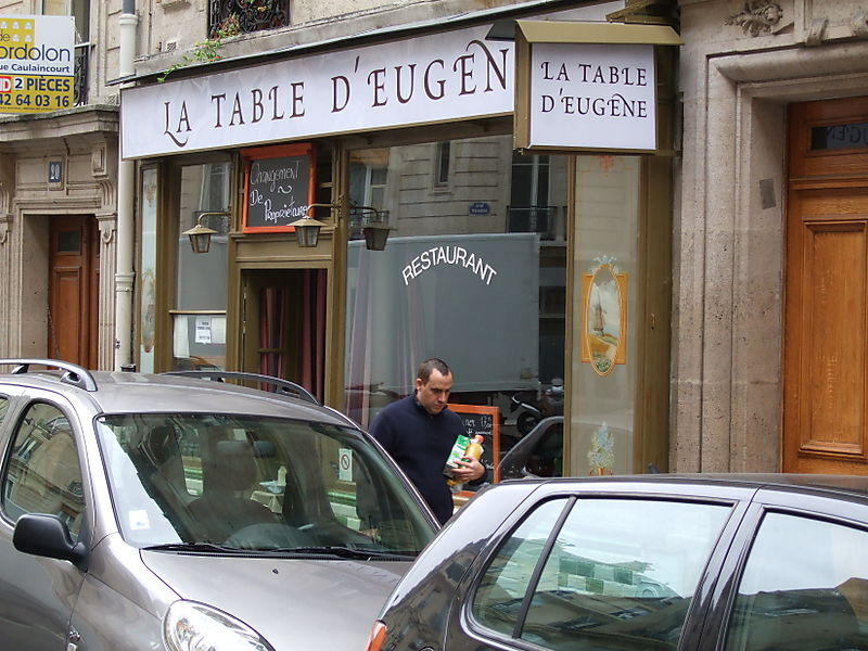 John Talbott 39 S Paris La Table D 39 Eugene Sue A Wow In The Darkest 18th