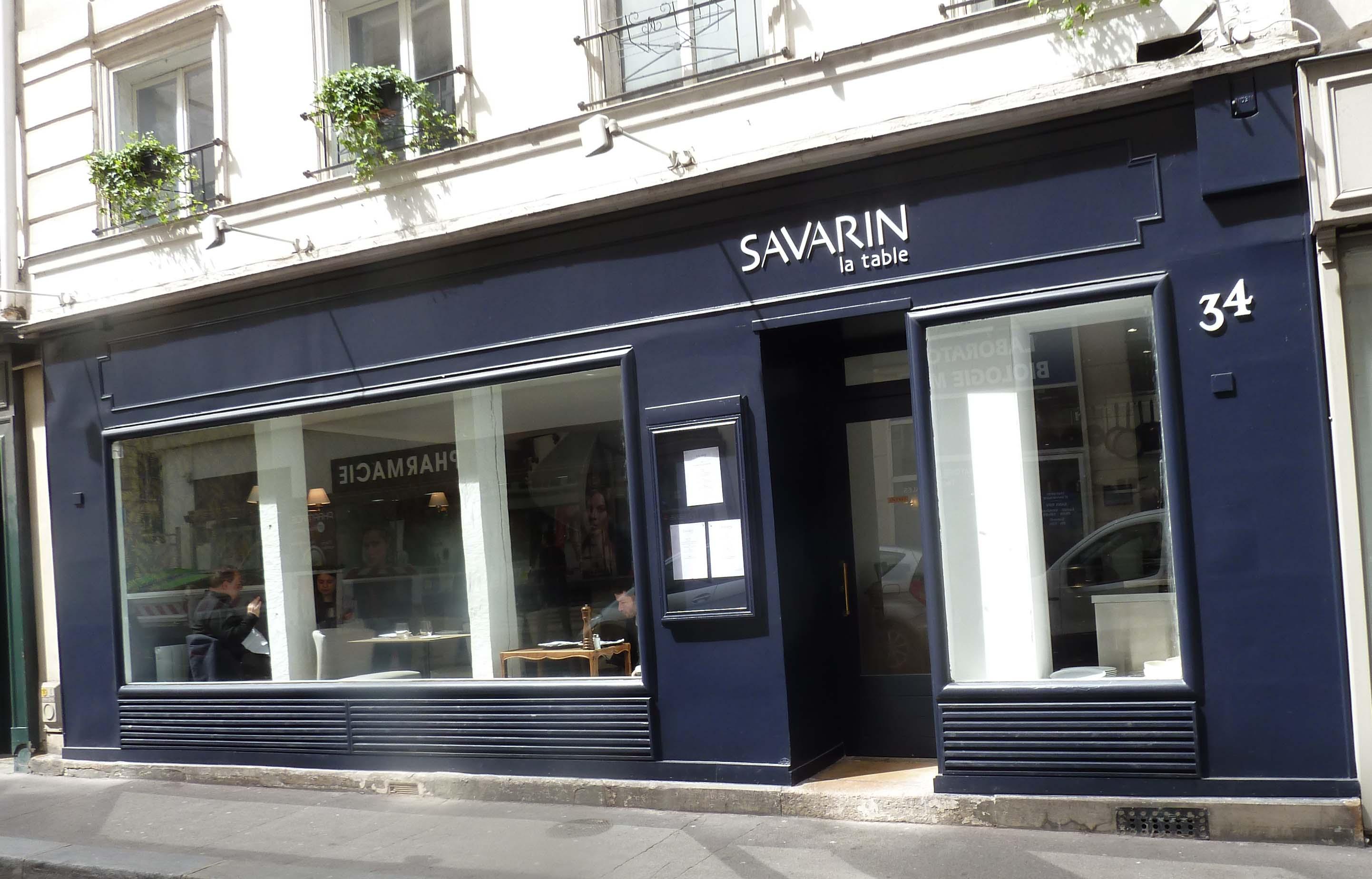 John Talbott S Paris Savarin La Table In The 7th Another Keeper