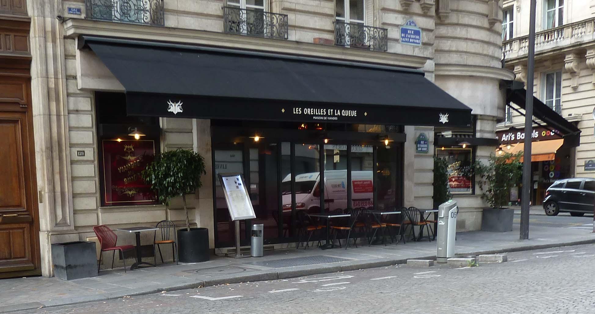 John Talbott\'s Paris: Les Oreilles et La Queue (St Honore); I went ...
