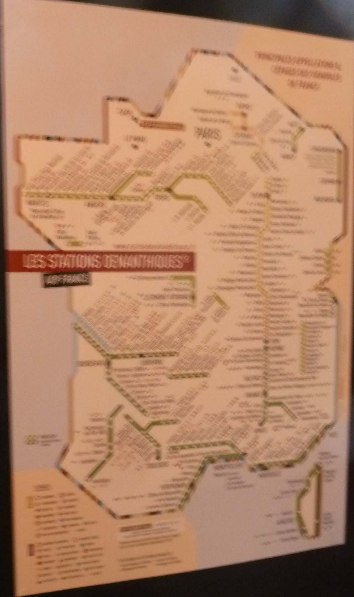 France Wine Subway Map.John Talbott S Paris Le Bistrot De Madeleine In The 9th A True